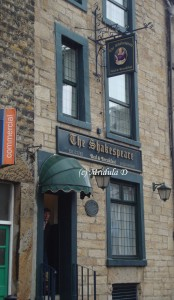 Bed and breakfast, Lancaster, The Shakespeare Inn