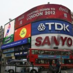 Countdown to 2012, Piccadilly Circus, London