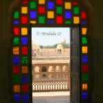 The Colorful Glasses of Hawa Mahal, Jaipur, Rajasthan