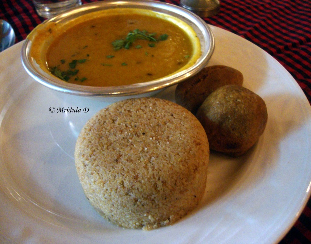 Daal Bati Churma at LMB Jaipur