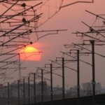 Skywatch Friday- More Delhi Metro Pictures