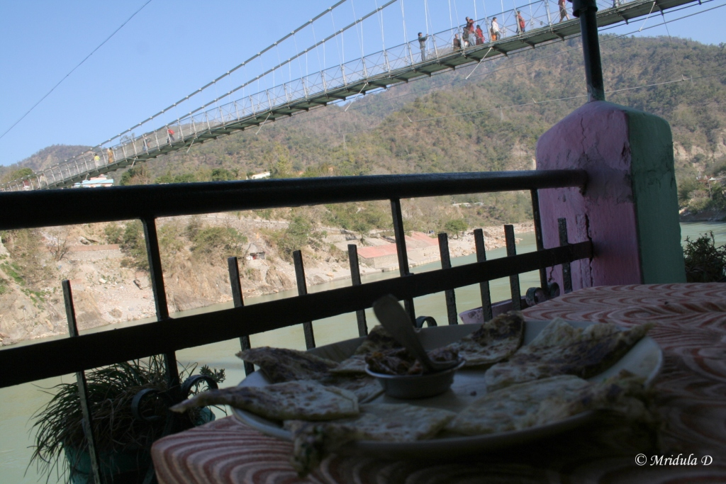 Paratha Next to Laxman Jhula Rishikesh