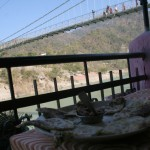 Lazy Sunday Photo- Paratha Next to Laxman Jhula