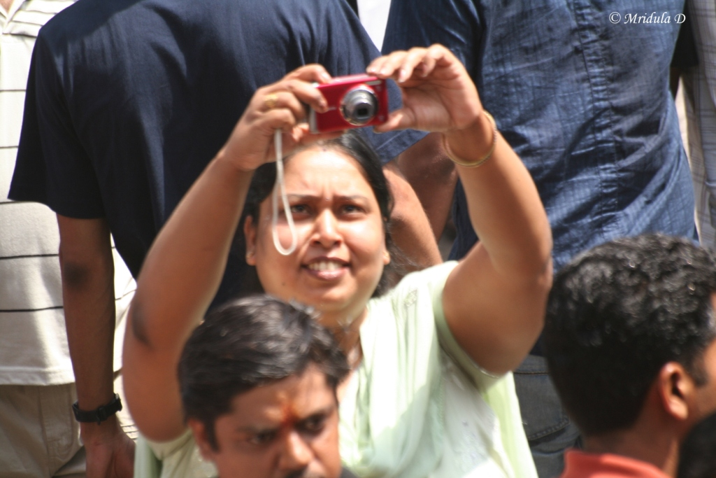 Everyone Wanted Pictures at Jantar Mantar