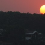 Skywatch Friday- Sunset at Lonavala
