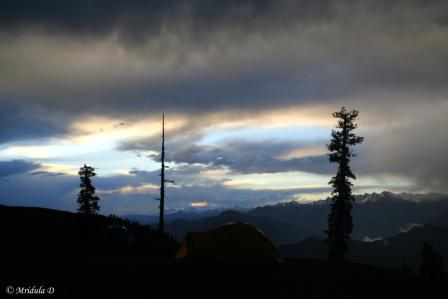 Beautiful Sky at Talhauti, Uttarakahnd, India