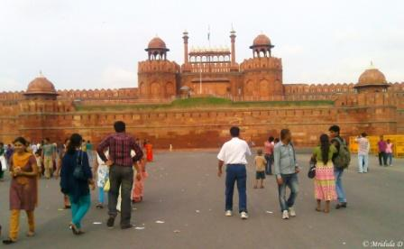 Red Fort, Delhi, in the Evening