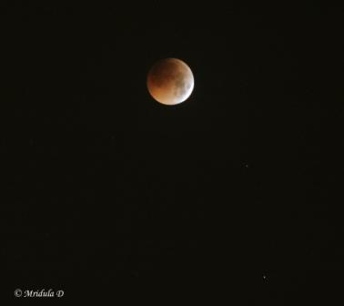 Total Lunar Eclipse, June 15-16, 2011, India