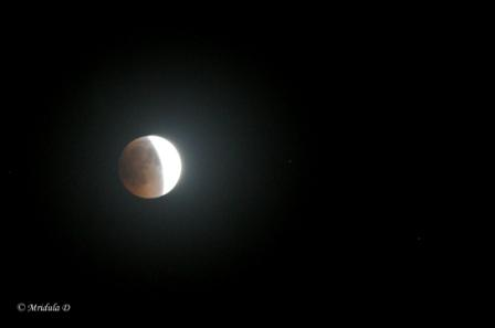 Total Lunar Eclipse, June 15-16, New Delhi, India