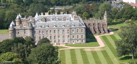Holyroodhouse, The  Venue for Wedding of Zara Philips and Mike Tindall