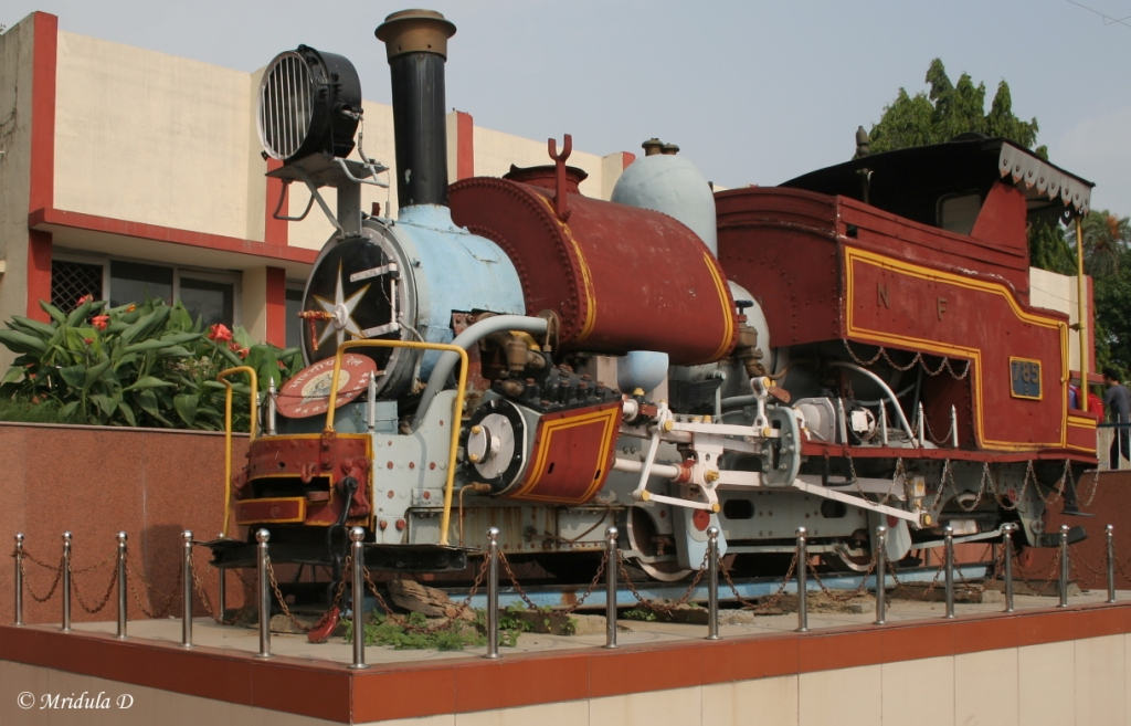 A Model Engine at Dehradoon Railway Station