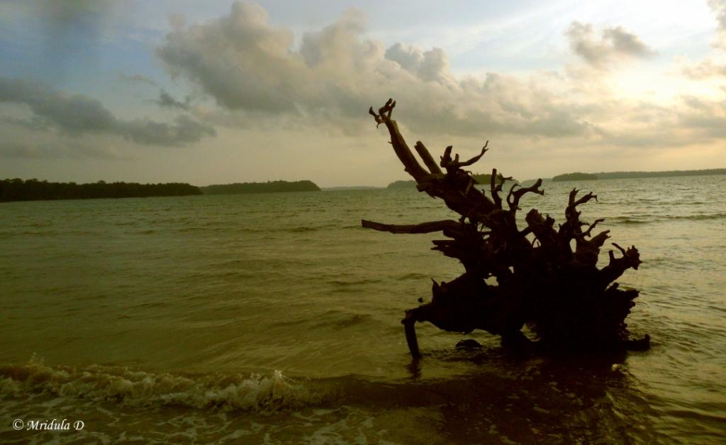 Dusk at Wandoor Beach, Port Blair, Andaman Islands