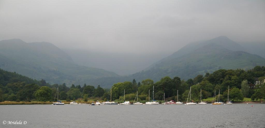 A Cloudy Day at Ambleside, Lake District, UK