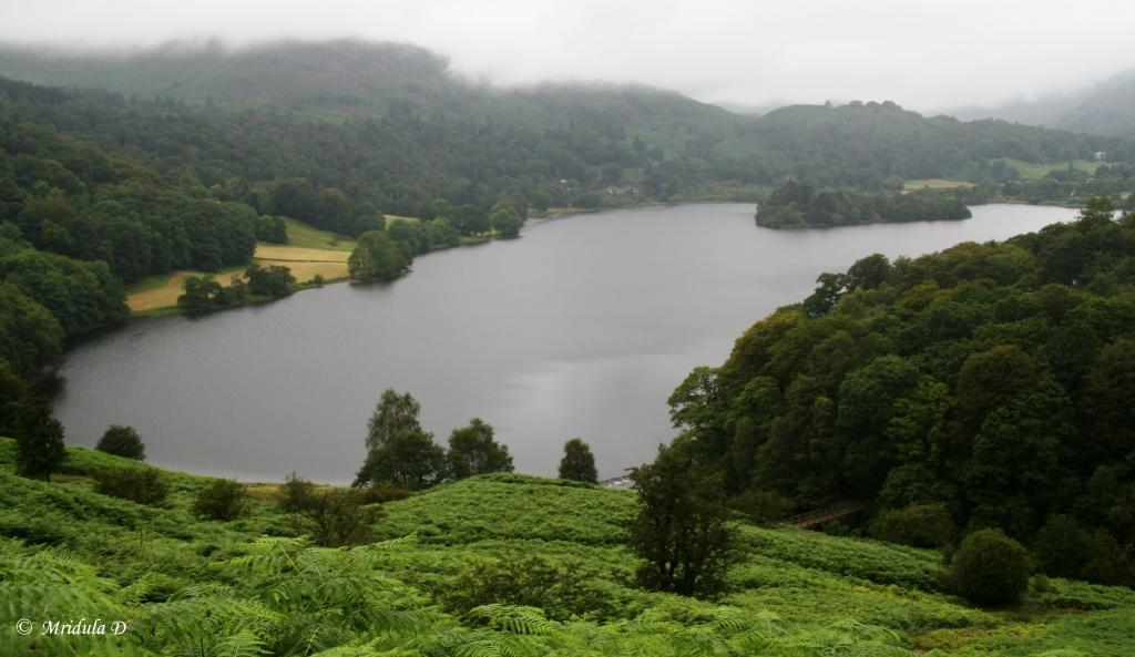 Lake Grasmere, Lake District, Cumbria, UK