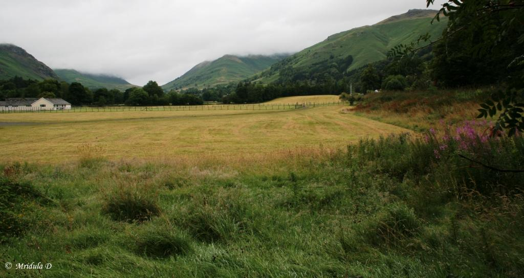 View from the Road to the Dove Cottage, Grasmere, Lake District, UK