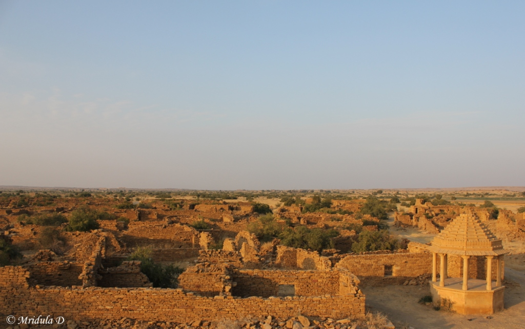 Kuldhara an Abandoned Village at Jaisalmer, Rajasthan