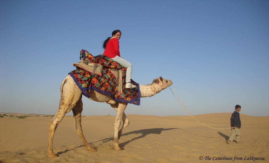 The Camel Safari, Jaisalmer, Rajasthan
