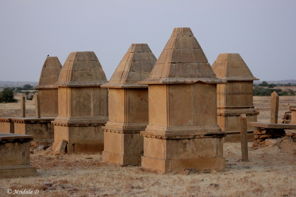 Closer Look at the Structures at Kuldhara, Jaisalmer, Rajasthan
