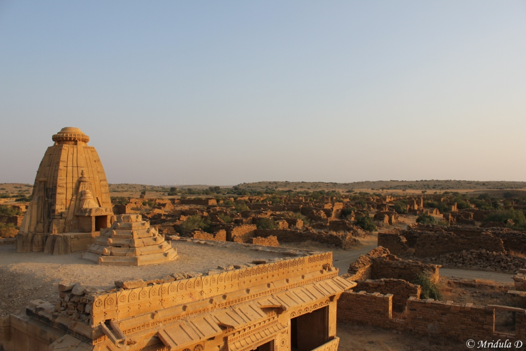 Temple at Kuldhara, Jaisalmer, Rajasthan