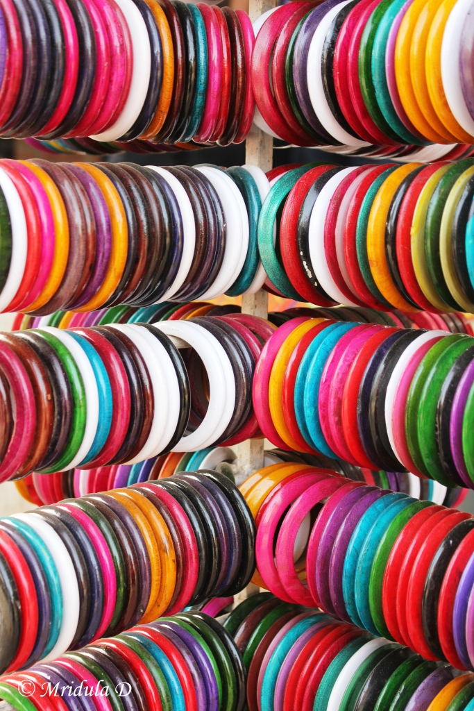 Colorful Bangles at Dilli Haat
