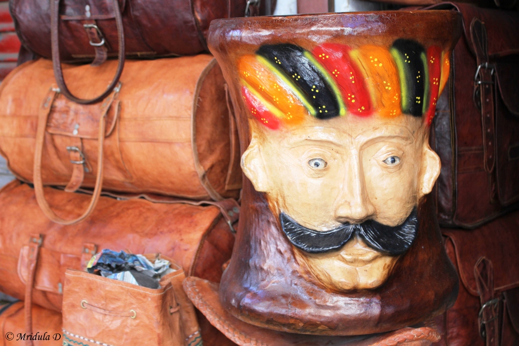 Leather Products for Sale, Jaisalmer