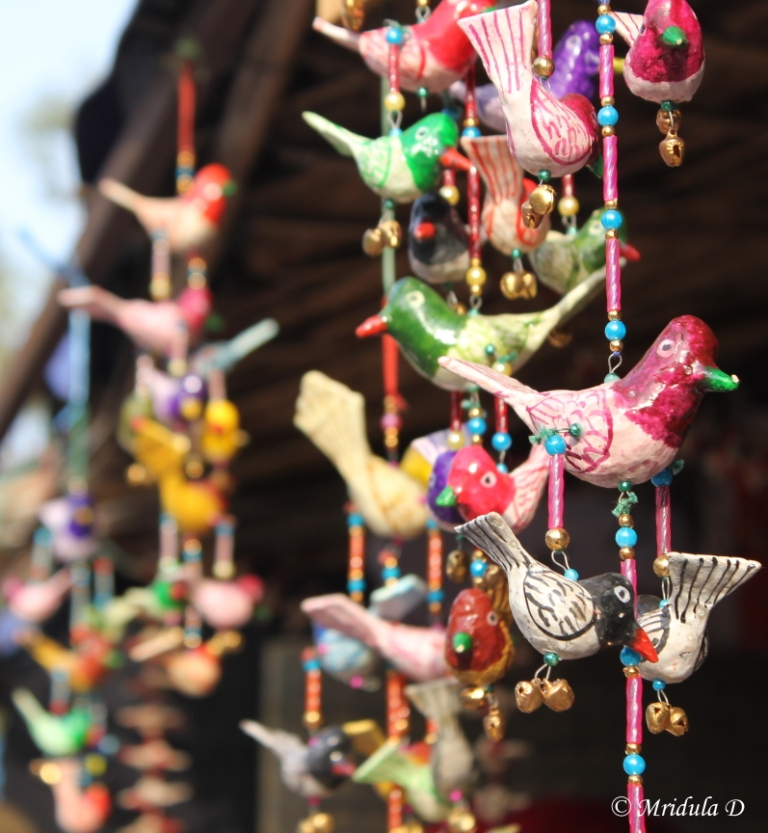 Wall Hangings at Dilli Haat