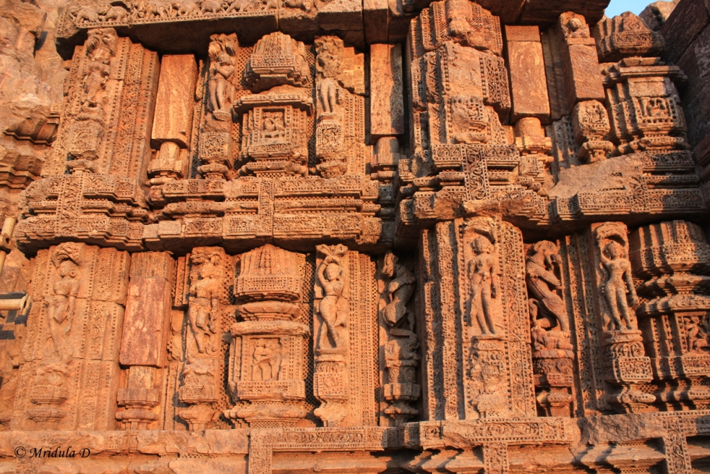 The Murals on the Wall, Sun Temple, Konark