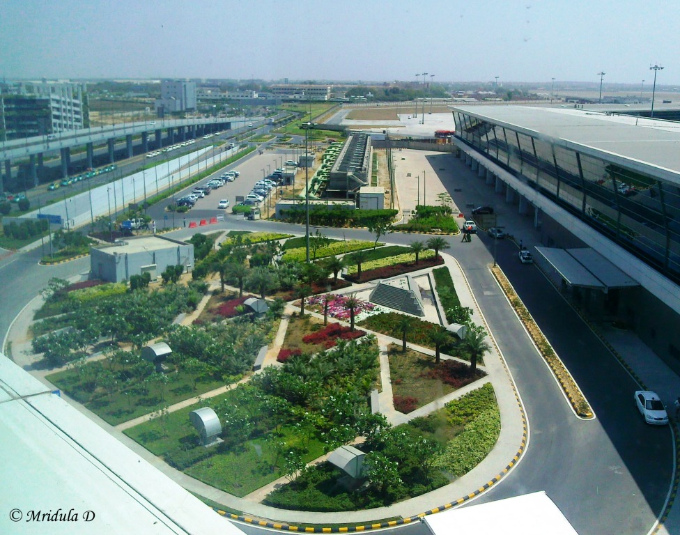 View from the Domestic Wing of Eaton Smart, IGI, New Delhi