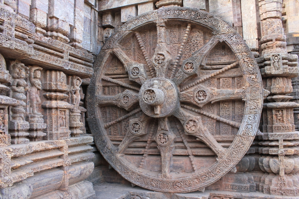 Chariot Wheels at Konark