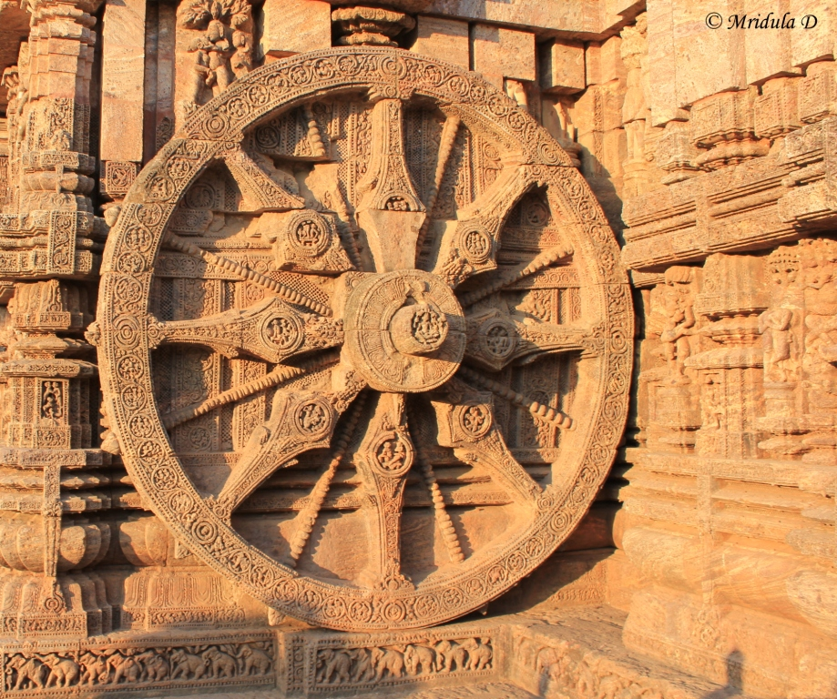 Wheels of the Chariot of the Sun God, Konark