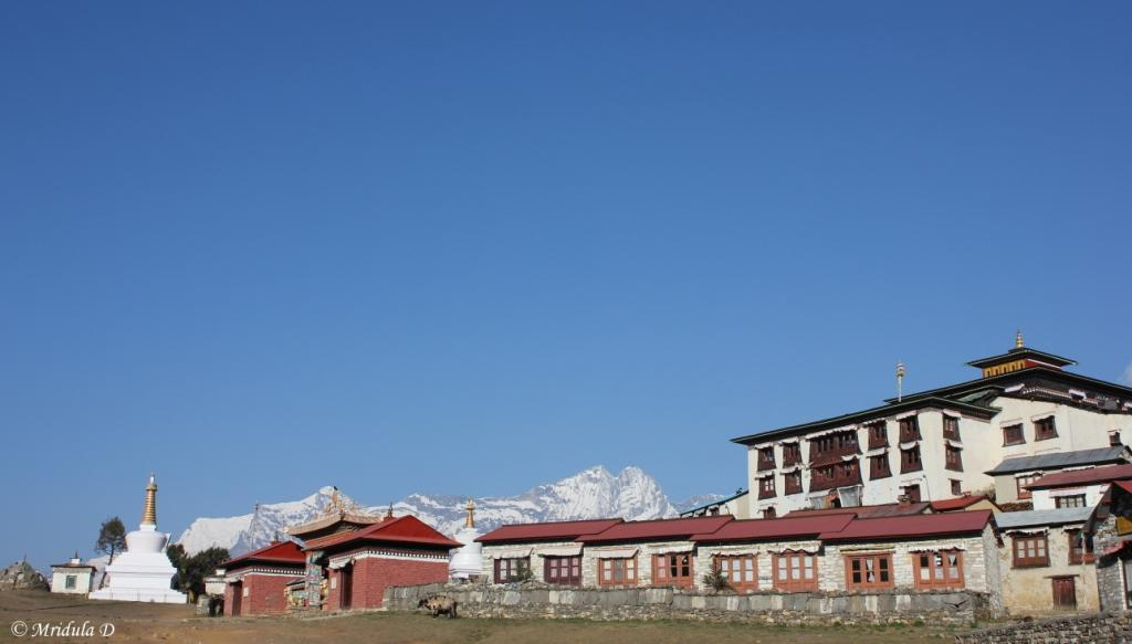 Another View of the Monastery at Tengboche, Everest Base Camp Trek, Nepal