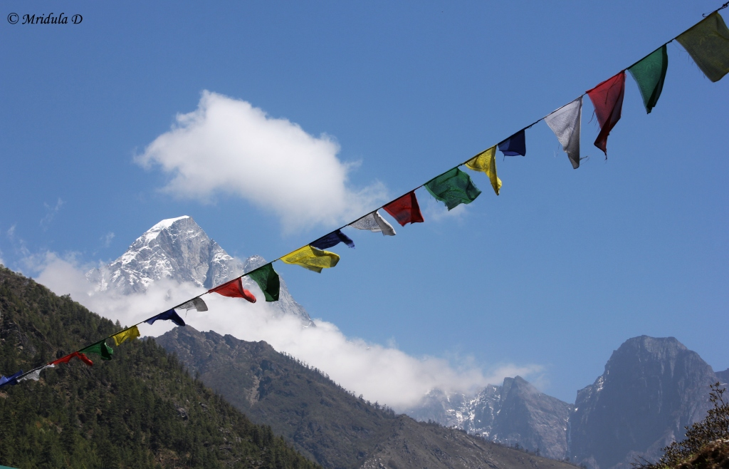 Prayer Flags and Peaks, Day 1, Everest Base Camp Trek, Nepal
