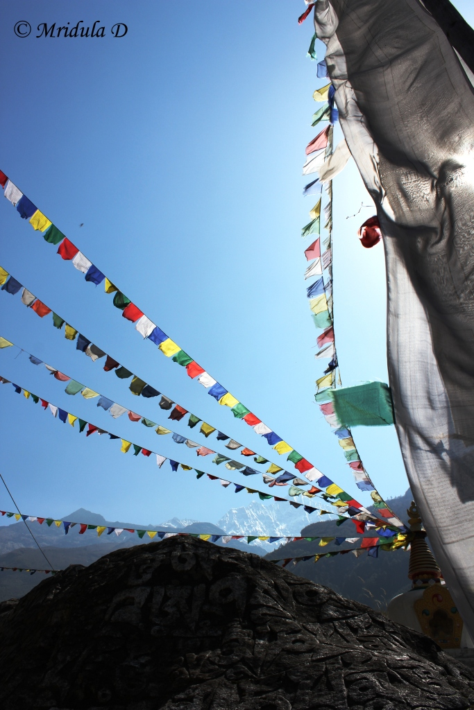 Prayer Flags on the Route, Everest Base Camp, Nepal