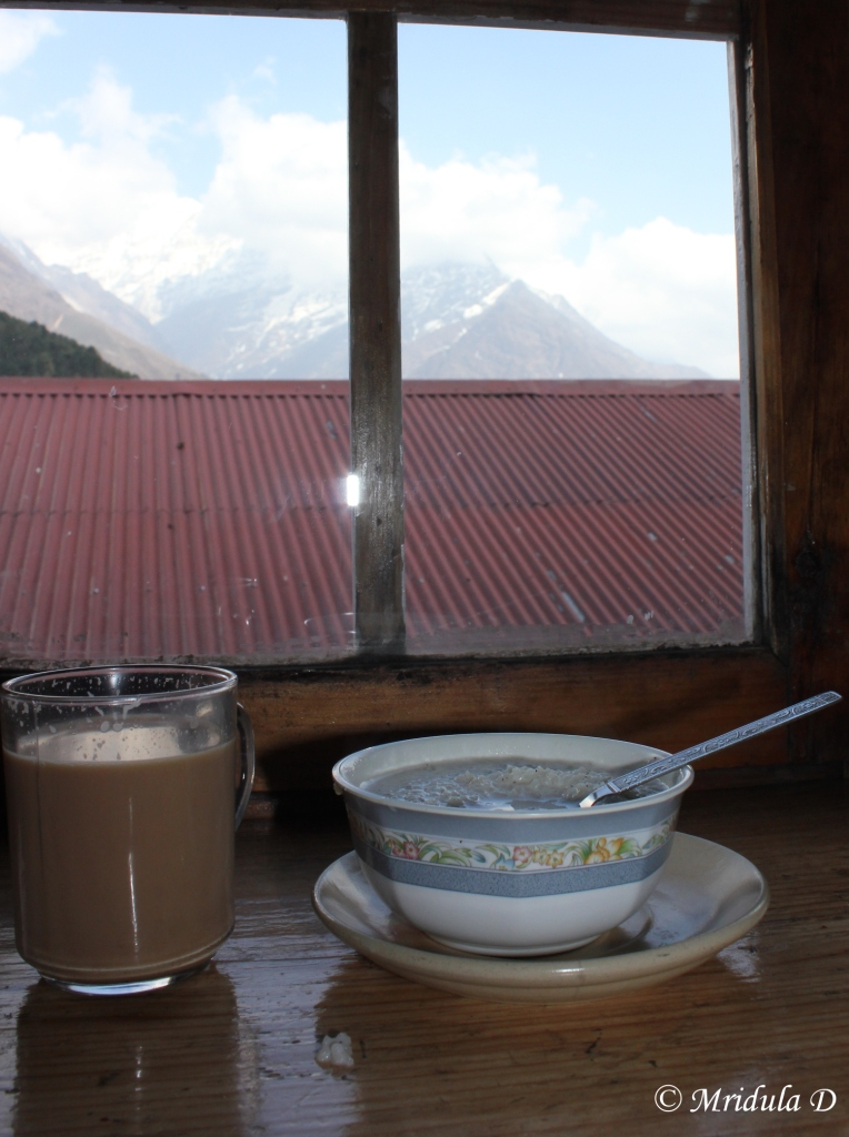 The Birthday Special at Namche Bazaar, Everest Base Camp Trek, Nepal