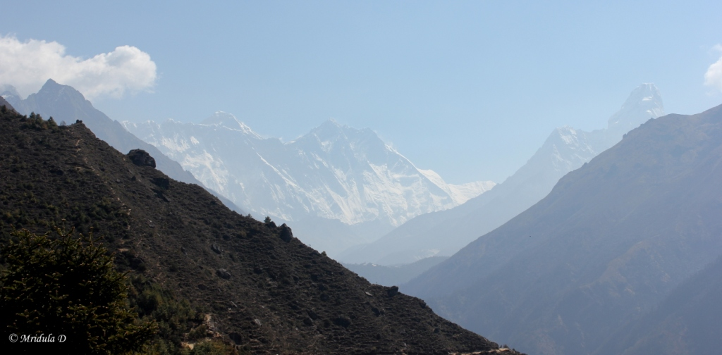 The First View of Everest from Namche