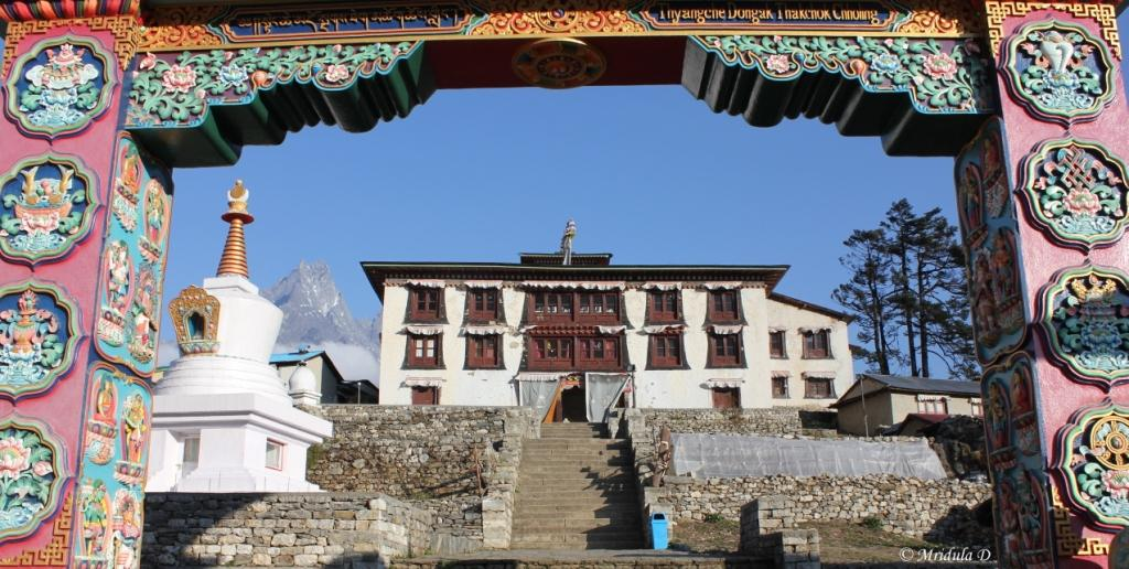 The Monastery at Tengboche, Everest Base Camp Trek, Nepal