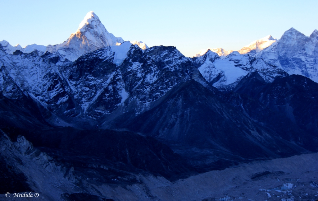 Ama Dablam Catches the Morning Light, Kala Pathar, Everest Base Camp Trek, Nepal
