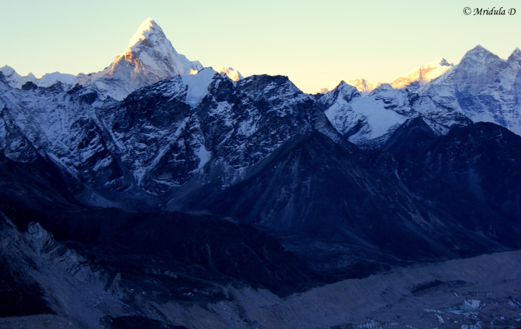 Ama Dablam as seen from Kala Patthar