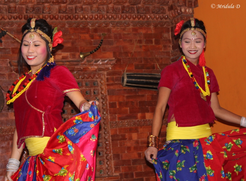 Beautiful Nepali Women Dancers
