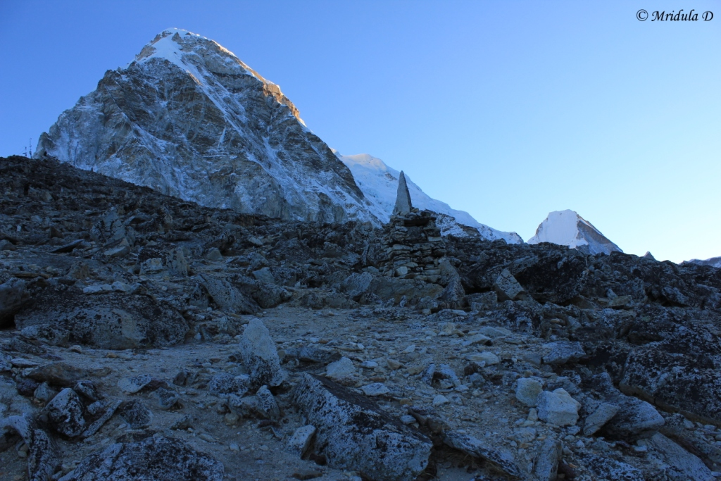 Beautiful Pumori at Dawn, Kala Pathar, Everest Base Camp Trek, Nepal