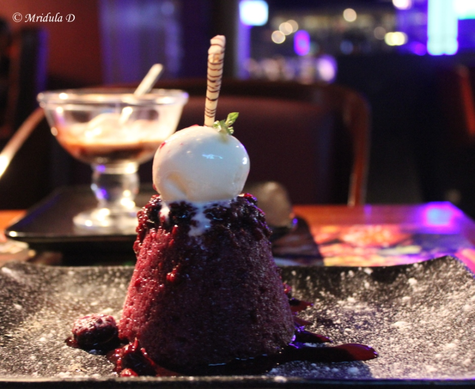 Berry Pudding at the Underdoggs