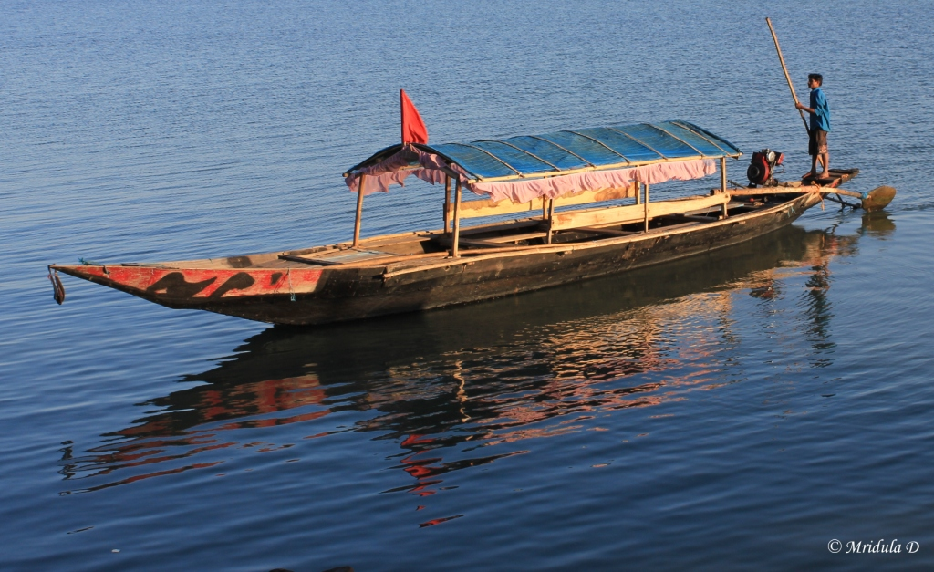 Boating at Chilika Lake, Odisha