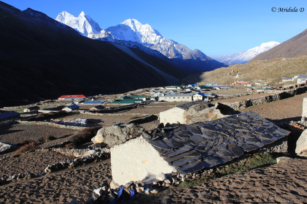 Dingboche Village, Everest Base Camp Trek, Nepal