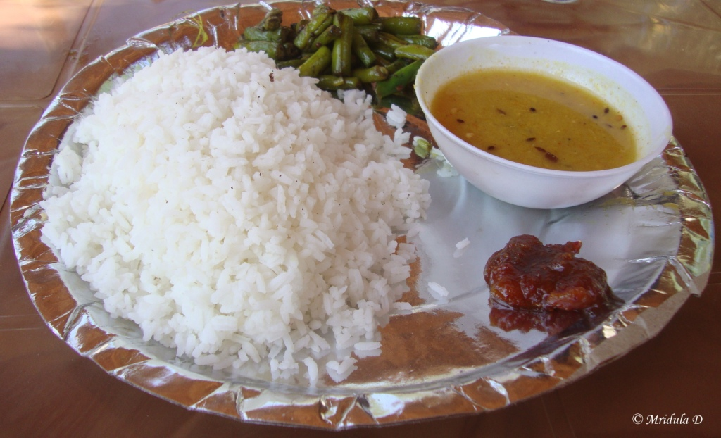 Food at Mangalajodi, Odisha