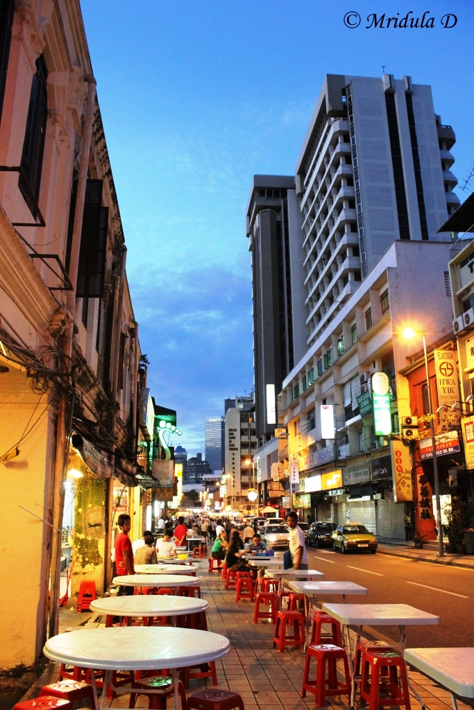 Street Cafes, China Town, Malaysia