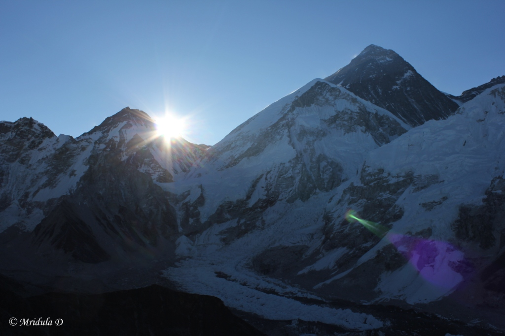 Sunrise at Kala Pathar, Everest Base Camp Trek, Nepal