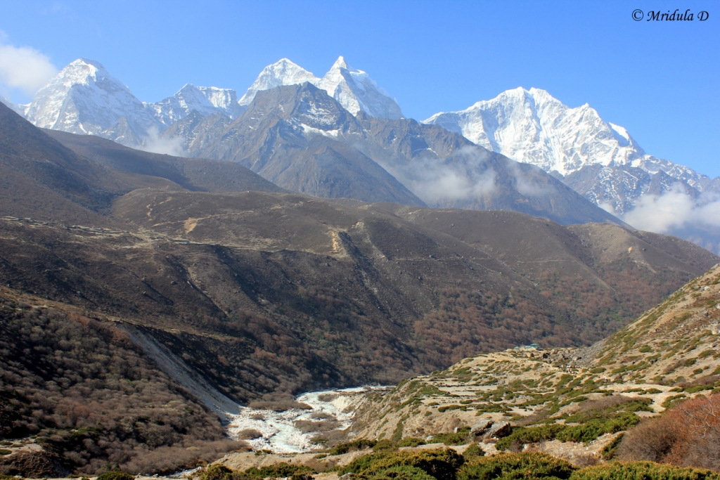 The Beautiful Pheriche Tengboche Route