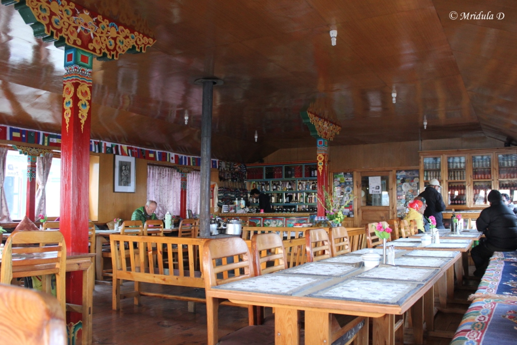 The Dining Hall at Pheriche, Everest Base Camp Trek, Nepal