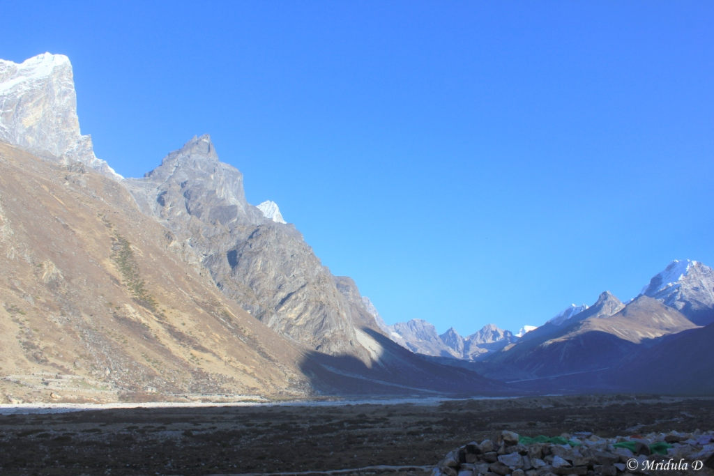 The Valley around Pheriche, Everest Base Camp Trek, Nepal