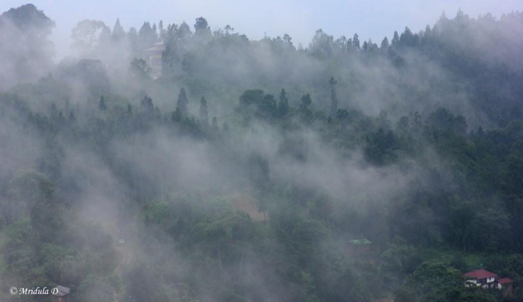 Misty Views from the Watch Tower, Chukung, Sikkim